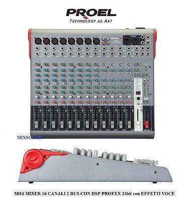 PROEL Mi16 MIXER PROFESSIONALE 16 CANALI 2