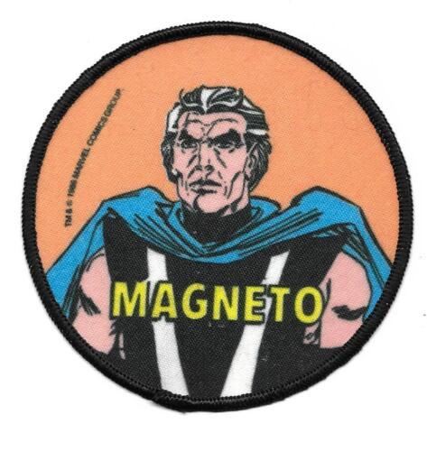 VINTAGE X-MEN MAGNETO MARVEL COMICS PATCH NEW & UNUSED 1985