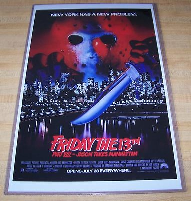 Friday the 13th Part VIII Jason Takes Manhattan 11X17 Original Movie Poster