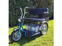Two Seater Two Person TGA Supersport Mobility Scooter