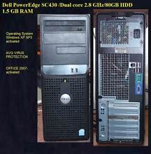 Dell Dual core/80GB HDD/1.5 GB RAM/Win XP St Marys Penrith Area Preview