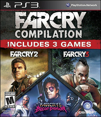 Far Cry Compilation Ps3 New Playstation 3  Playstation 3