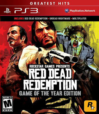 Red Dead Redemption Game of the Year PS3 New sony_playstation3;