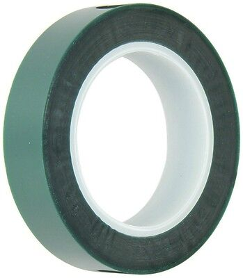 Green 1 Inch High Temp Polyester Powder Coating Anodizing Painting Masking Tape