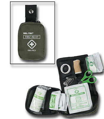 First Aid Pack Mini, Erste Hilfe, Camping, Outdoor, Military      -NEU-