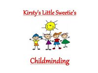 Kirsty's Little Sweetie's Childminding (Abronhill area of Cumbernauld) *Spaces Available*