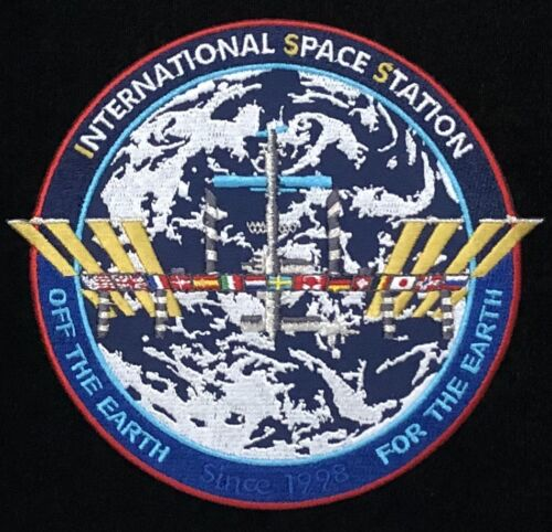 ISS / INTERNATIONAL SPACE STATION OFF THE EARTH FOR THE EARTH TIM GAGNON PATCH