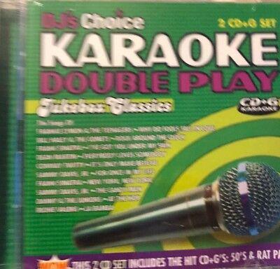 (Karaoke Double Play, Brand New CD(sealed))