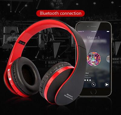 Over-Ear Bluetooth Headphone Wireless Headset HIFI Heavy Bass Earphone Handsfree