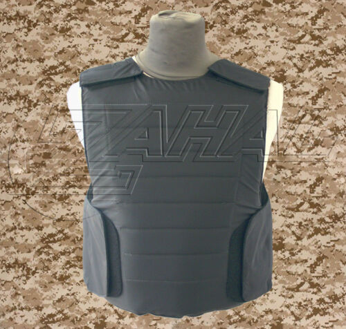 Concealed Israeli Bullet Proof Body Armor Vest NIJ level IIIA 3A - ROBO
