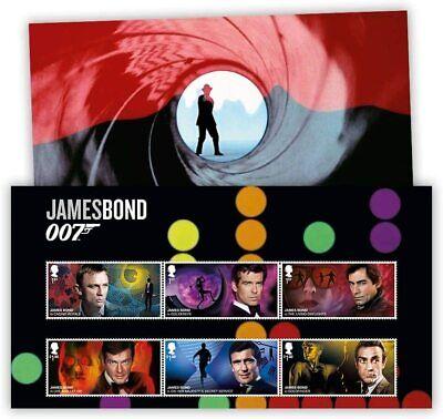 Great Britain 2020 - James Bond 007 Celebrating 60 Years - Set of 6 Stamps - MNH