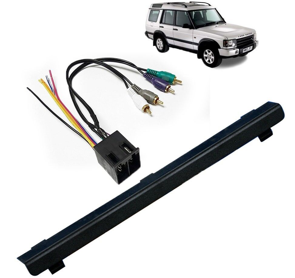 radio wiring land rover single din stereo dash   integrate amp wire kit for land rover  single din stereo dash   integrate amp