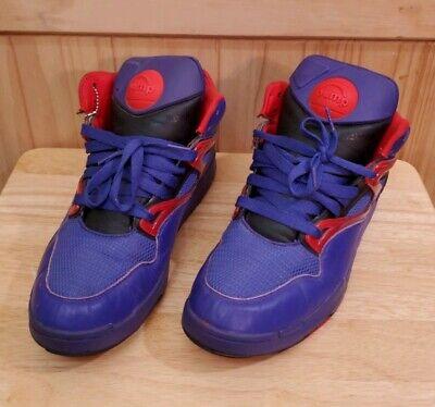 - Reebok The Pump Omni Lite Hexalite Basketball Shoe Purple Men's Size 11.5