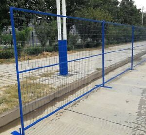 Temporary construction fencing fence
