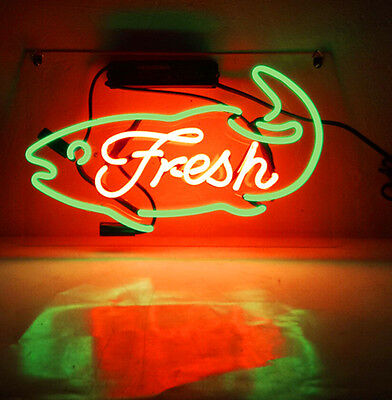 Restaurant Seafood Shop Poster Beer Bar Decor Party Light Neon Sign - Seafood Party Decorations