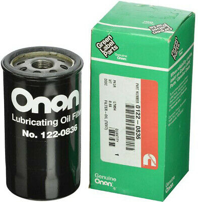 New Cummins Onan 122-0836 Oil Filter Fits Hgjab 5500 5000 Rv Marquis Generator