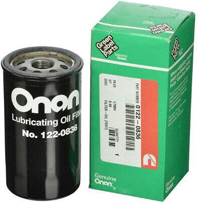 New Cummins Onan 122-0836 Oil Filter Fits Hgjab 5500 5000 Rv Marquis Generator