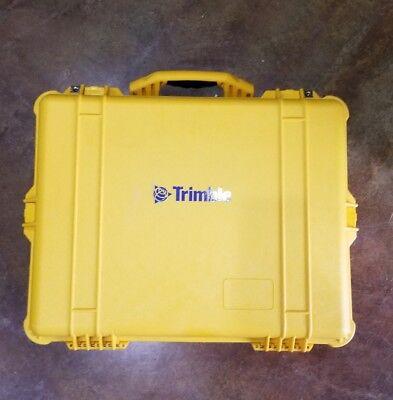 Trimble Yellow Base Station Pelican Case Brand Newfree Shipping