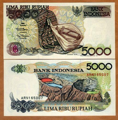 Indonesia, 5000 Rupiah, 1992, P-130, UNC