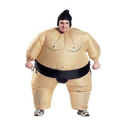 Halloween Child/Adult Inflatable Sumo Wrestler Costume Fat Man Suite Xmas Gift](Child Sumo Wrestler Halloween Costume)