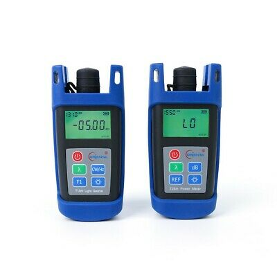 Orientek T25m Fiber Optic Power Meter T15m Optical Light Source 1 Pair Opm Ols