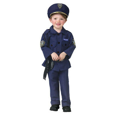 Fun World Baby Boy's Complete Policeman Cop Toddler Kids Costume
