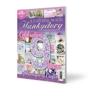 Crafting with Hunkydory Magazine 9th Anniversary Special Edition FREE KIT
