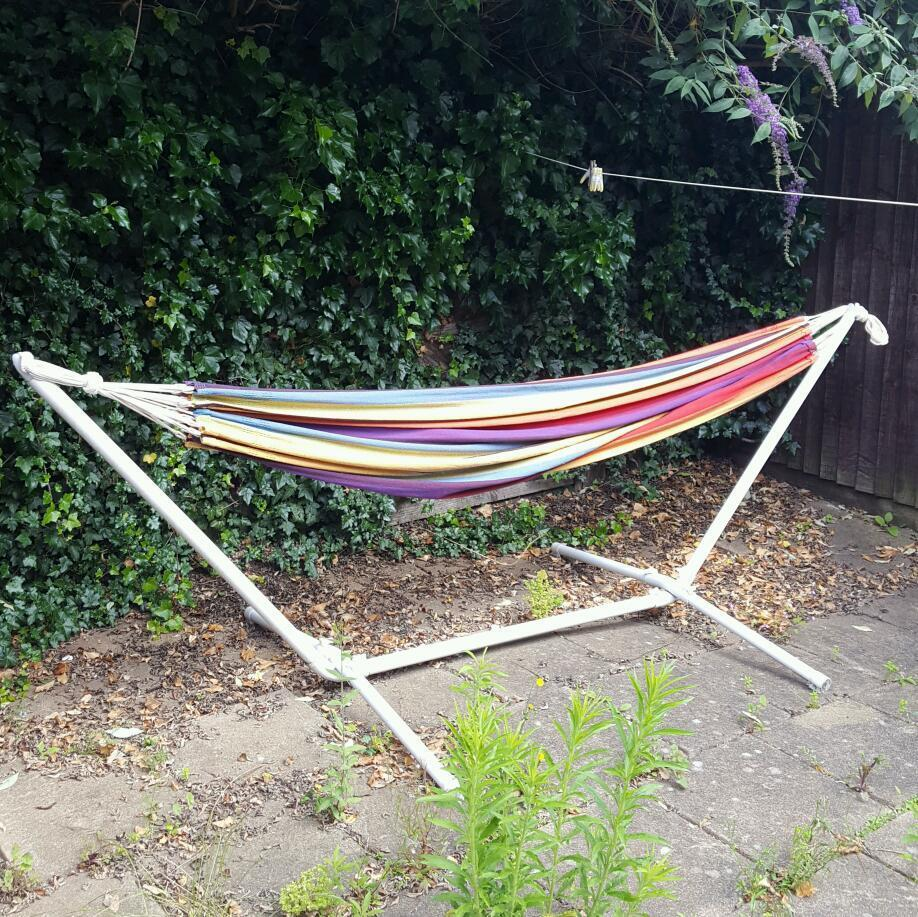 Medium image of hammock stand and amazonas hammock