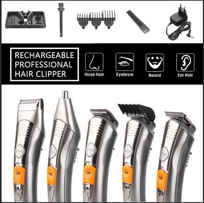 KEMEI Hair Cut Clipper Beard Travel Shaving Machine Trimmer Mustache Barber Set  for sale  USA