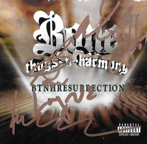 Bone Thugs N Harmony autograph E. 1999 Grammy Hip Hop Legends COA PROOF LOOK!