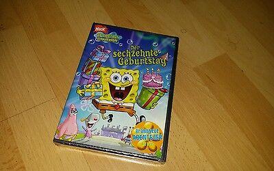 Sponge Bob Schwammkopf der 13. Geburtstag DVD neu new OVP  ()