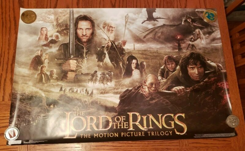 The Lord of the Rings: The Motion Picture Trilogy Poster NEW