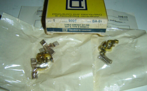 Square D 9998 BA-81 Size 0 Contact Kit 9998 BA81