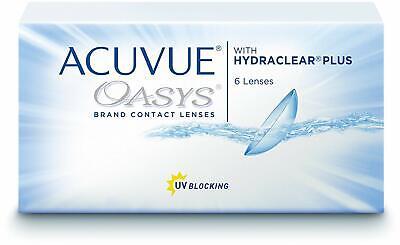 Acuvue Oasys for Astigmatism 2-Wochenlinsen Kontaktlinsen weich, 6 Stück