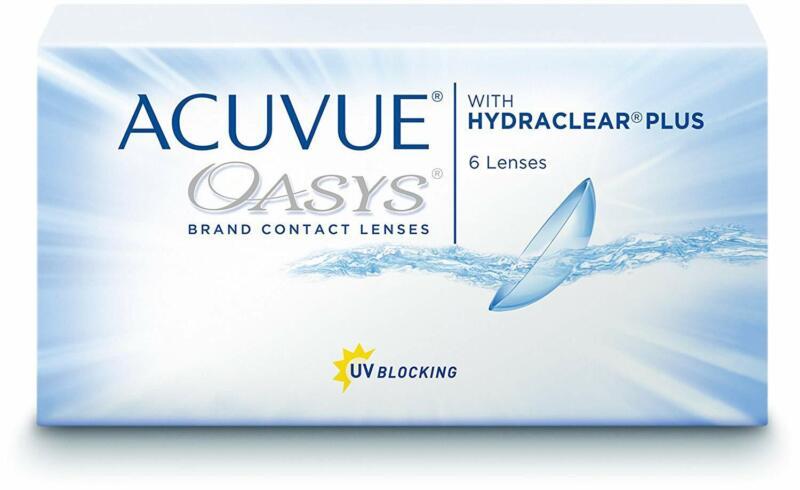 Acuvue Oasys Kontaktlinsen – 2-Wochen-Linsen Für Tag Und Nacht Mit -1.5 Dpt U
