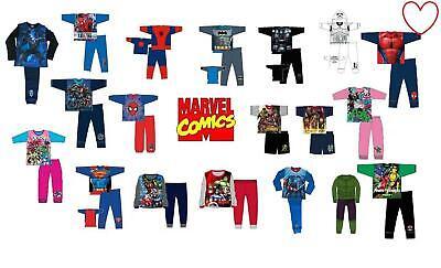 Superhero Costume Set (Kids Girls Boys Sleepwear Pajamas Superhero Costume Pyjamas Nightwear 2Pcs)