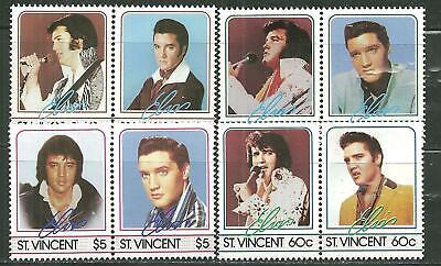 SAINT VINCENT 874-77 MNH ELVIS PRESELY