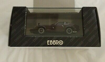 EBBRO NISSAN FAIRLADY Z-G BROWN --55 -3400 1999 MMP LTD 43055 1:43 SCALE MODEL