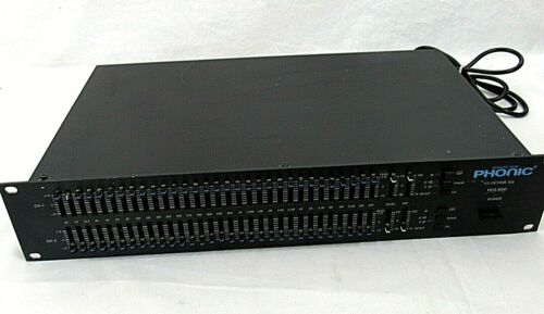 Professional Graphic Equalizer Phonic PEQ 3600 Tested and Working