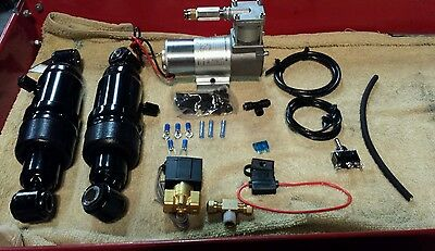 Harley Davidson air ride SUSPENSION TOURING! 94-18 USA SELLER AND WARRANTY