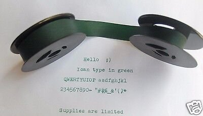 Typewriter Ink Ribbons New Green Ink Ribbon For Manual And Electric Typewriters