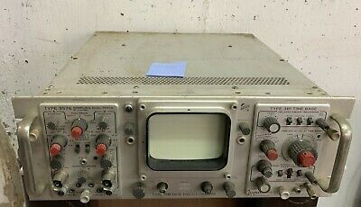Vintage Tektronix Oscilloscope Type Rm 561a W 3s76 3b1 Plug In Modules