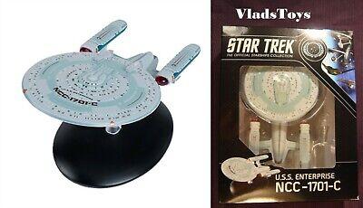 Eaglemoss Star Trek Best Of New Box Enterprise NCC-1701-C Captain Garrett