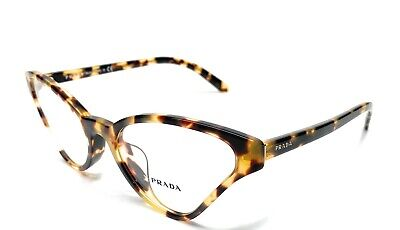 Prada VPR 06X-F 7S0-1O1 Havana Women's Authentic Eyeglasses Frame 56-19
