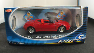 """Solido 1554 Alfa Romeo Spider 1999 1/43 inbox/en boîte - France - État : Occasion : Objet ayant été utilisé. Consulter la description du vendeur pour avoir plus de détails sur les éventuelles imperfections. Commentaires du vendeur : """"Voir photos / see pictures"""" - France"""