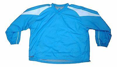 Holloway Sportswear Unisex Size 3XLarge Baby Blue White Pullover Jacket NEW