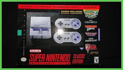 SNES Undying Edition Mini - Super Nintendo Entertainment System - Brand New