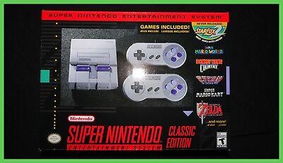 SNES Enduring Edition Mini - Super Nintendo Entertainment System - Brand New