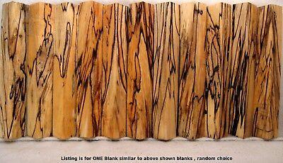 Spalted MAPLE WOOD Lathe TURNING PEN BLANKS Crazy Figure Color Black line   Sm01