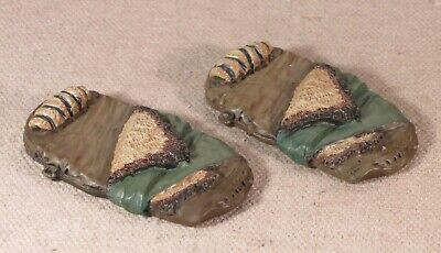 2x Monster Bed Rolls Dwarven Forge Caverns Deep Dungeon Painted Game Tiles for sale  Shipping to India